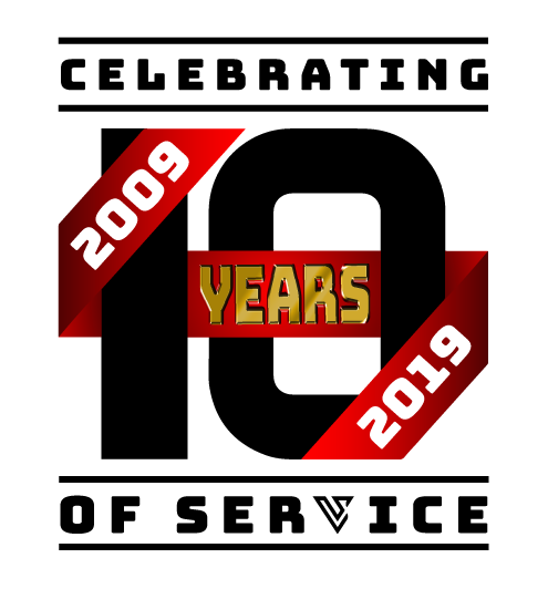 UniVirtual Solutions 10 year anniversary banner